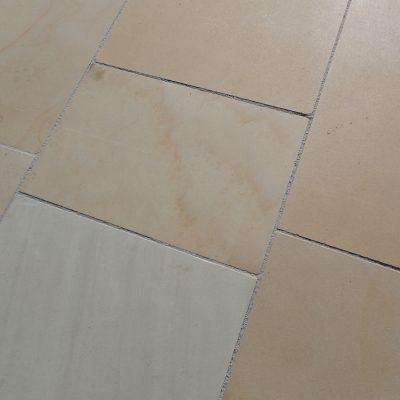 Honed Sandstone Mint Ivory