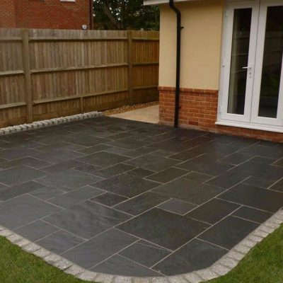 Kebur Contempo Natural Slate Paving