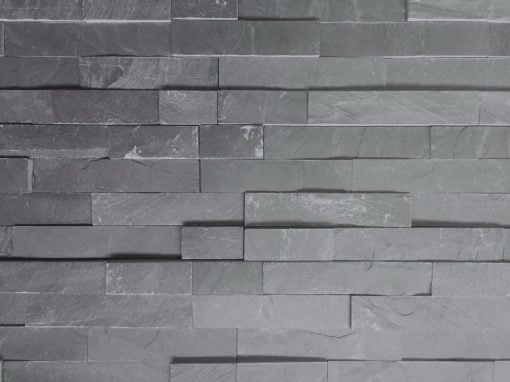 Blue-Black Slate Cladding