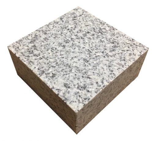Light Grey Sawn Granite sett 100x100mm