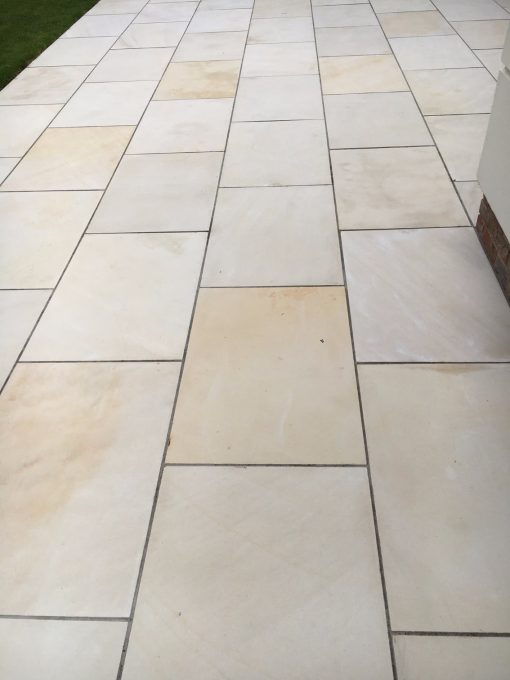 Yellow Mint Smooth Sandstone