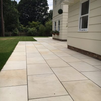 Honed Sandstone Desert Sand (picture courtesy of Bluewater Landscapes)