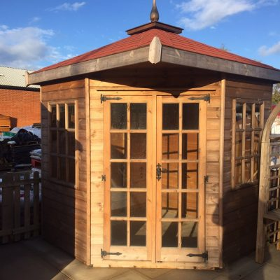 Hipped Roof Corner Summerhouse