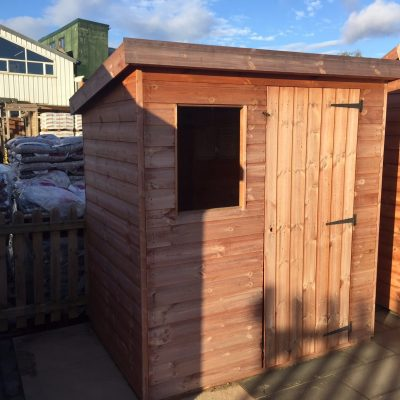 Ex-Display Pent Shed