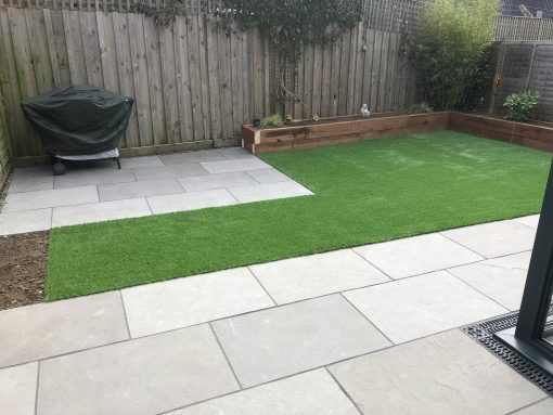 Andhra Grey Limestone by Winslade Landscapes