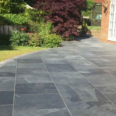 Brazilian Black slate by JWG paving