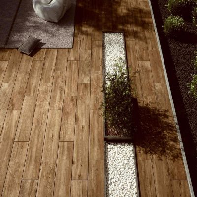 Kebur Contempo Sleekwood Porcelain Paving