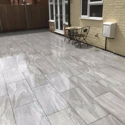Thunderstorm Porcelain (wet) Photo courtesy of Winslade Landscapes