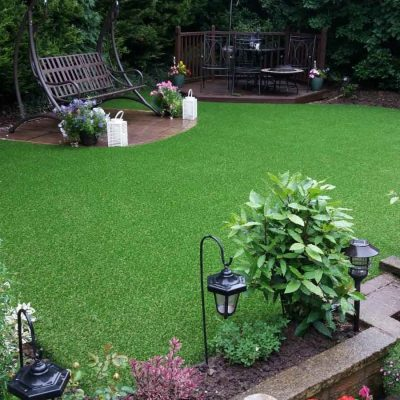Northumberland artificial grass installed
