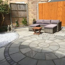 Circles and paving features