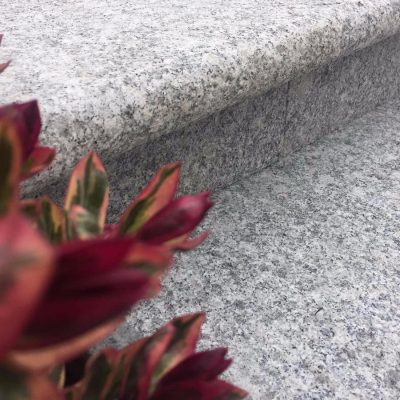 Silver Grey Granite Steps