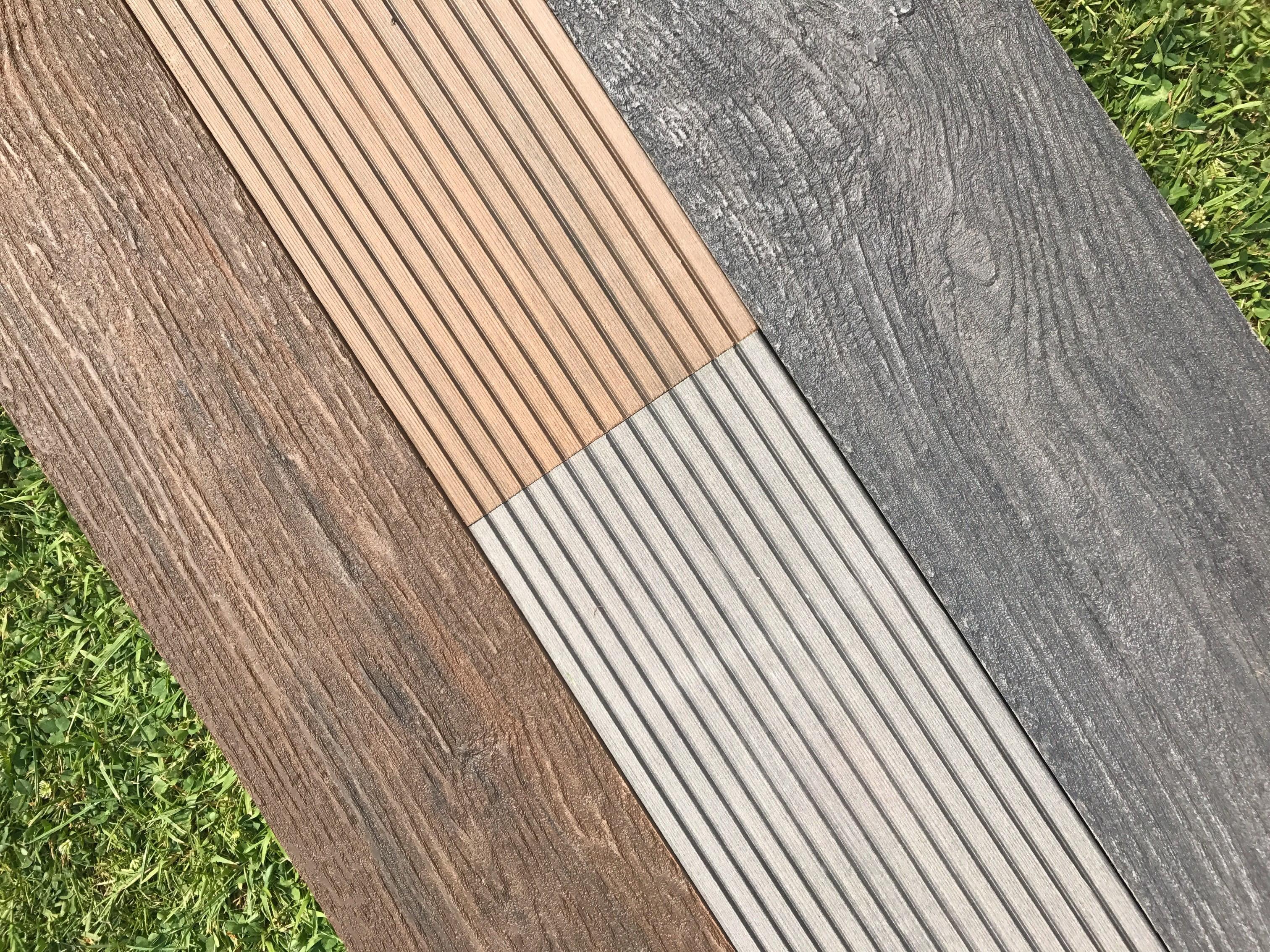 Saige Composite Rustic Decking