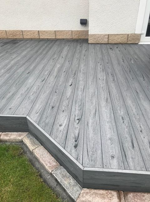 Rustic Grey Decking