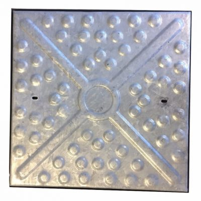 Steel Manhole Cover 600x600