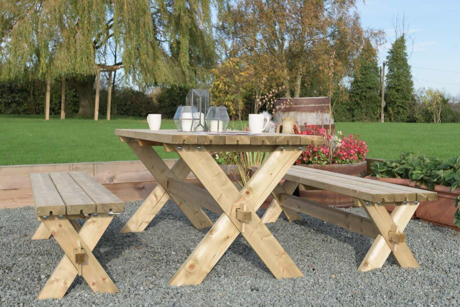 Grange Classic Garden Bench and Table set - Kebur