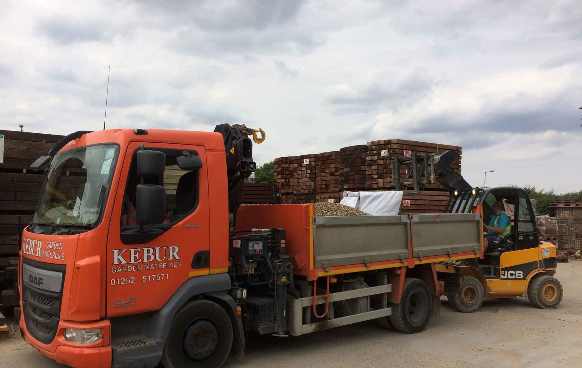 Kebur delivery lorry