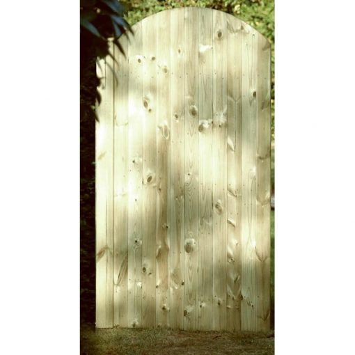 Arched Tongue & Groove Gate