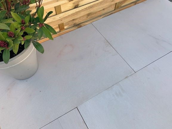 Indian sandstone with luxurious leather finish