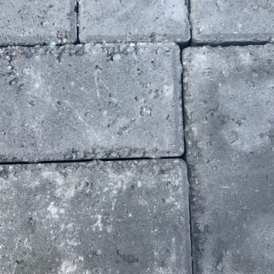 pitted charcoal blocks