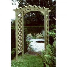 Pergolas, arches, arbours and timber garden structures