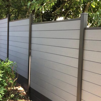 SAiGE Light Grey Composite Fencing