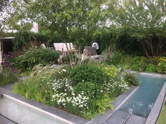 Silver award winning RHS Hampton Court APL Garden