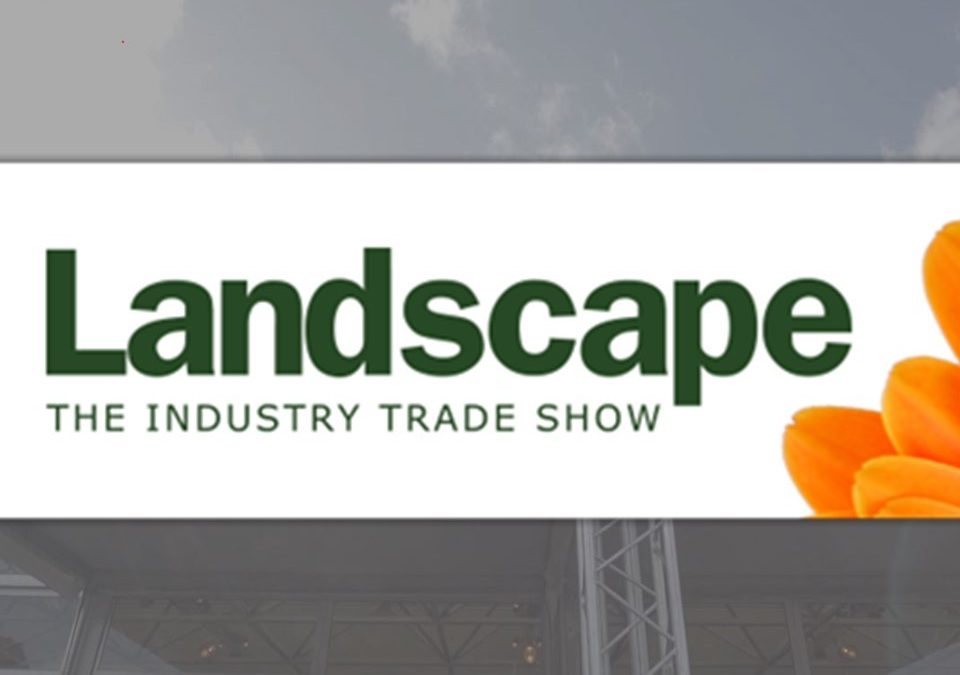 Visit us at the Landscape Show