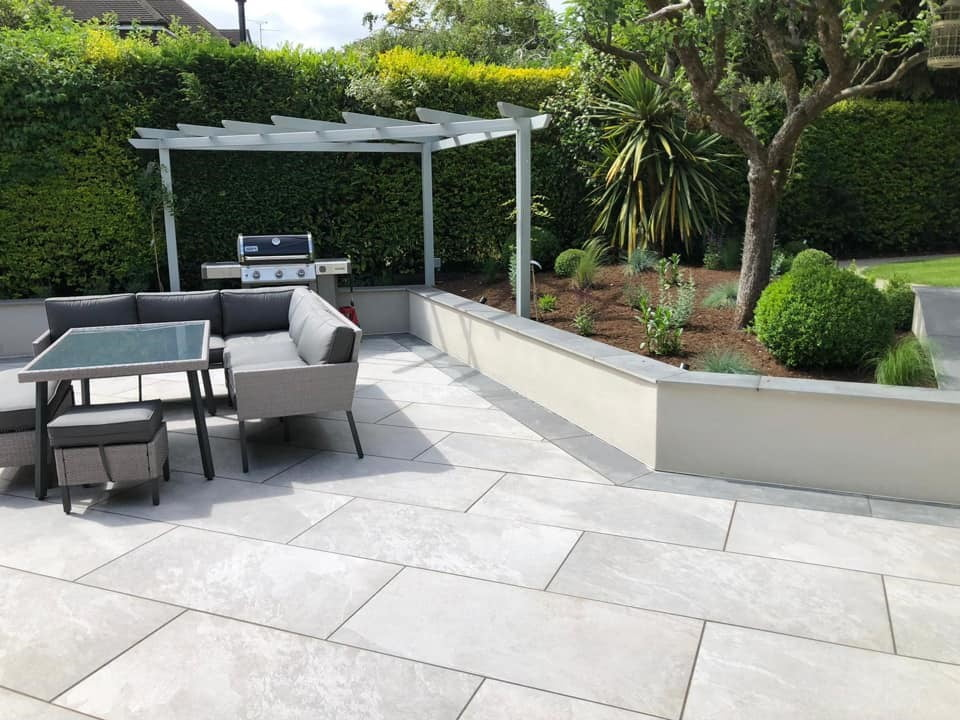 With Porcelain Paving Kebur, Grout For Outdoor Patio Stones