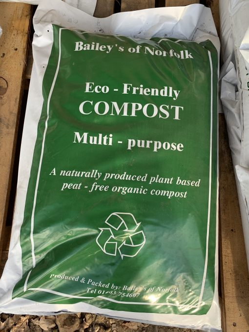 Naturally plant based peat free compost