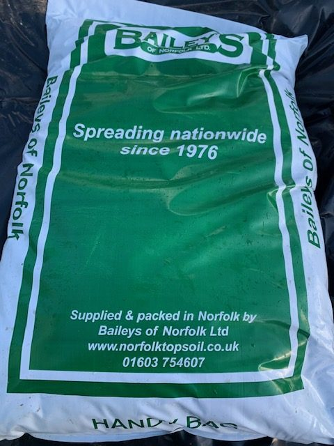 Lawn Repair Mix Poly Bag