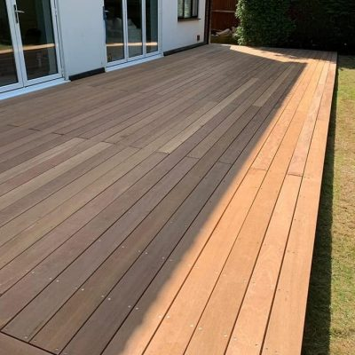 Balau hardwood decking (dry)