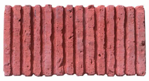 Tile On Edge Terracotta Kebur