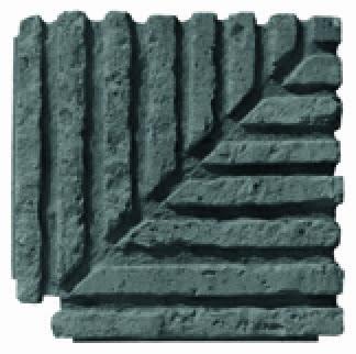 Tile on Edge Corner Anthracite