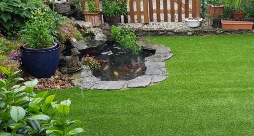 Goodwood Eco recycled and recyclable artificial turf