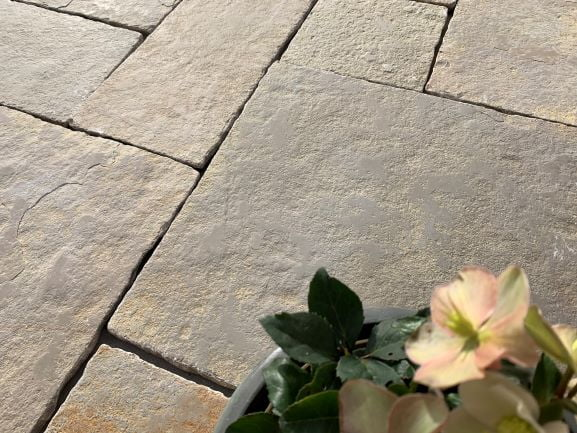 Antique Yellow Limestone