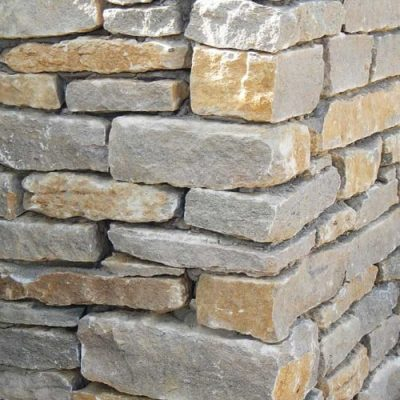 Forest Marble Guillotined Walling Stone