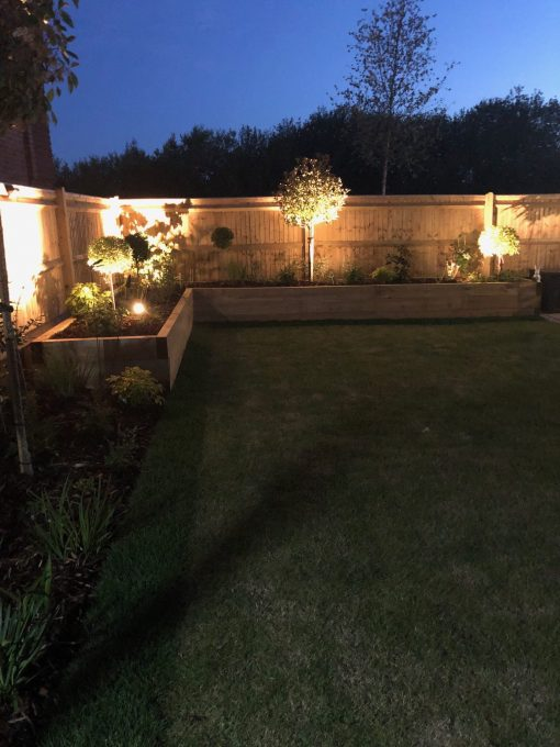 KDM Planed softwood garden sleepers