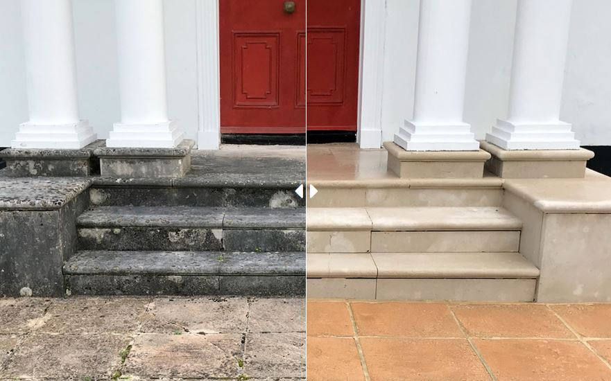 Black spot remover can help to transform tired outside spaces