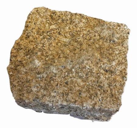 Kebur Natural Granite Setts - 100 x 100 x 50mm, Yellow
