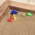 New Oak Sleeper Sandpit